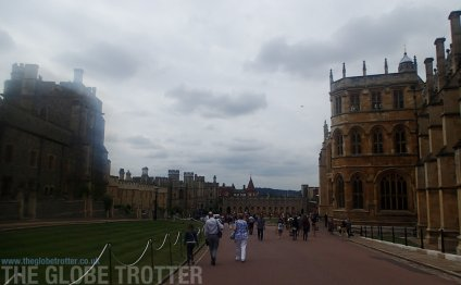 At Windsor Castle are: