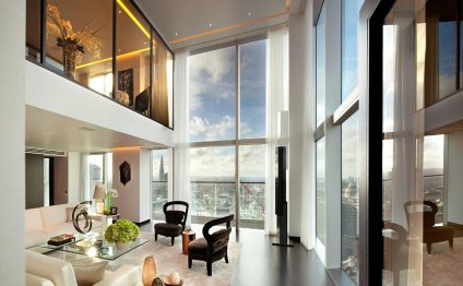 The two luxury penthouses