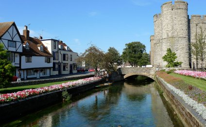 Canterbury gateway, England