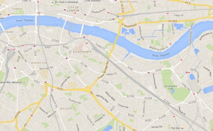 Map of Premier Inn London