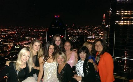 Out with my hen ladies!