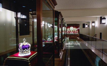 The crown jewels on display