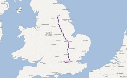 York to Windsor Castle by