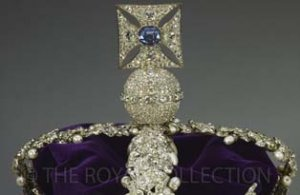 The sapphire of the Imperial State Crown