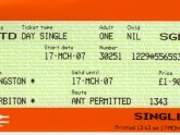 2 for 1 London train tickets