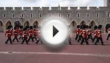 Changing of The Guard at Windsor Castle, Berkshire, England