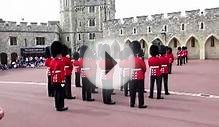 Guard change in Windsor castle