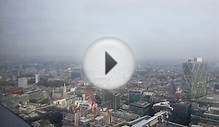 Inside the Duck and Waffle - Heron Tower, London, View