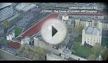 London city Landmarks #2 - The Tower of London surrounded