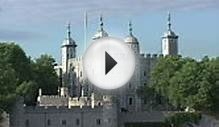 Mediumshot Of Buildings Near The Tower Of London Stock