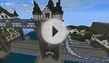 Minecraft London Tower Bridge