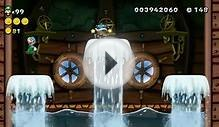 New Super Luigi U All Bosses (All Tower & Castle Boss Fights)